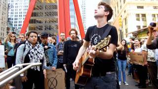 "Anti-Flag @ Occupy Wall Street ""One Trillion Dollars"" and ""If It's Good for the Economy"""
