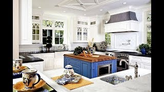 40 Colorful Kitchen Island Ideas