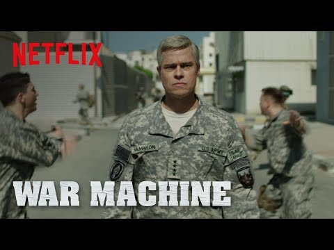 New Official Trailer for War Machine