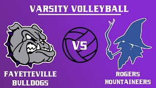 Varsity Girls Volleyball l Rogers @ Fayetteville