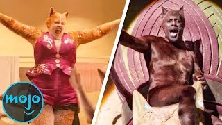 Top 10 Scenes in Cats That Will Make You Cringe