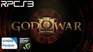 RPCS3 PS3 EMULATOR GOD OF WAR 3 KRATOS VS MADUSA FULL BOSS FIGHT 4K