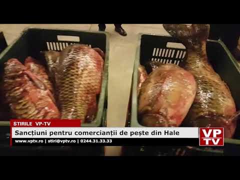 Sancțiuni pentru comercianții de pește din Hale