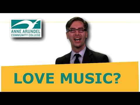 At AACC... We LOVE Music!