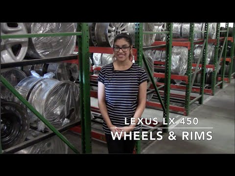 Factory Original Lexus LX 450 Wheels & Lexus LX 450 Rims – OriginalWheels.com