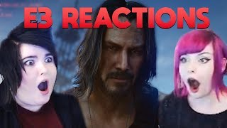 Screaming About E3 2019   Reaction Compilation