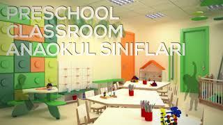 Almanya Hamburg ta tasarladığımız Mutlu Çocuklar Anaokulu
