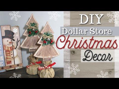DIY Dollar Store Christmas Decor | Farmhouse Christmas Decor | KraftsbyKatelyn