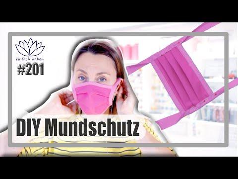 Maskenpflicht | DIY Mund-Nasen-Schutz selber nähen (kein Virenschutz) | mit Anna von einfach nähen