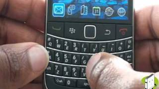 Setting up your BlackBerry Bold 9700   The Human Manual