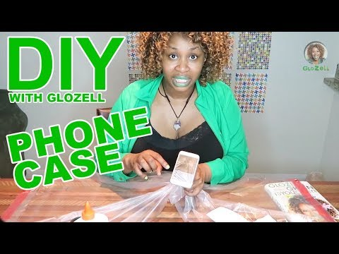 , title : 'DIY with GloZell - Phone Case'
