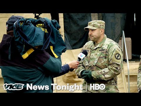 Trump's Border Troops Have Nothing To Do  (HBO)