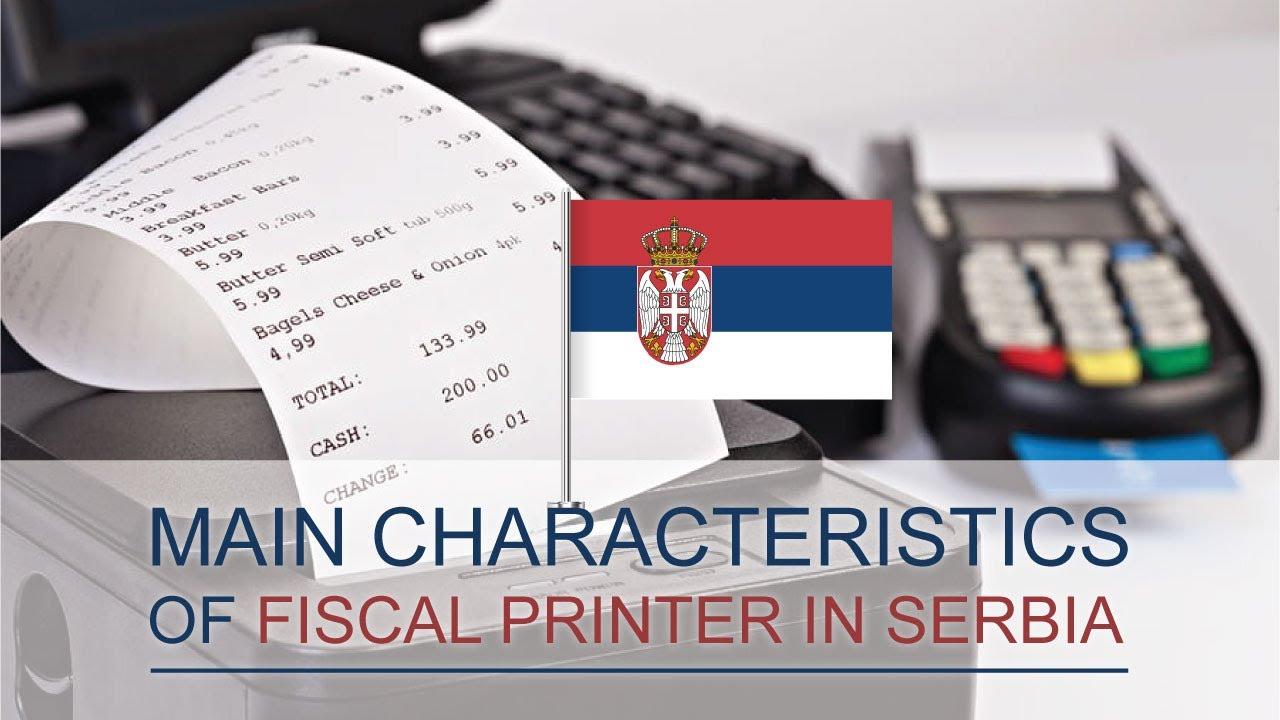 Fiscalization in Serbia: Fiscal printer in focus