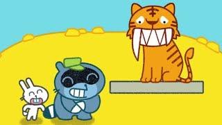 Мультики для детей МАЛЫШ ЕНОТ ПАНГО в ЗООПАРКЕ Помоги животным Игра для Самых Маленьких