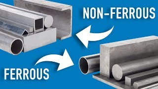 The Difference Between Ferrous And Non-Ferrous Metals | Metal Supermarkets