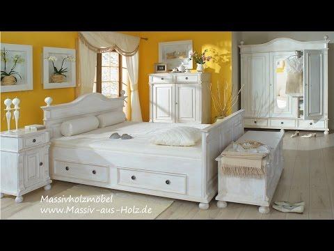 Schlafzimmermöbel im Landhausstil