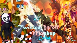 [SFM/C4D/COLLAB] THE TWISTED WOLF MASHUP [FNAF 1 - 6] Living Tombstone + SIAMÉS