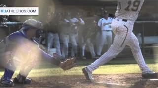 Krauth Dominant Against Baylor // KU Baseball // 4.1.16