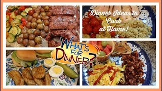 What's For Dinner this week? | Dinner Ideas to Cook at Home