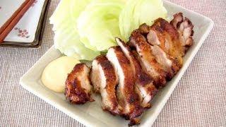 How to Make Sanzoku-Yaki (Large Fried Chicken Recipe) 信州松本名物 山賊焼き レシピ
