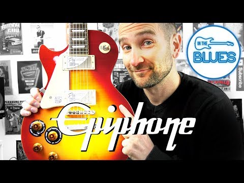 Epiphone Les Paul Standard Pro Electric Guitar Review