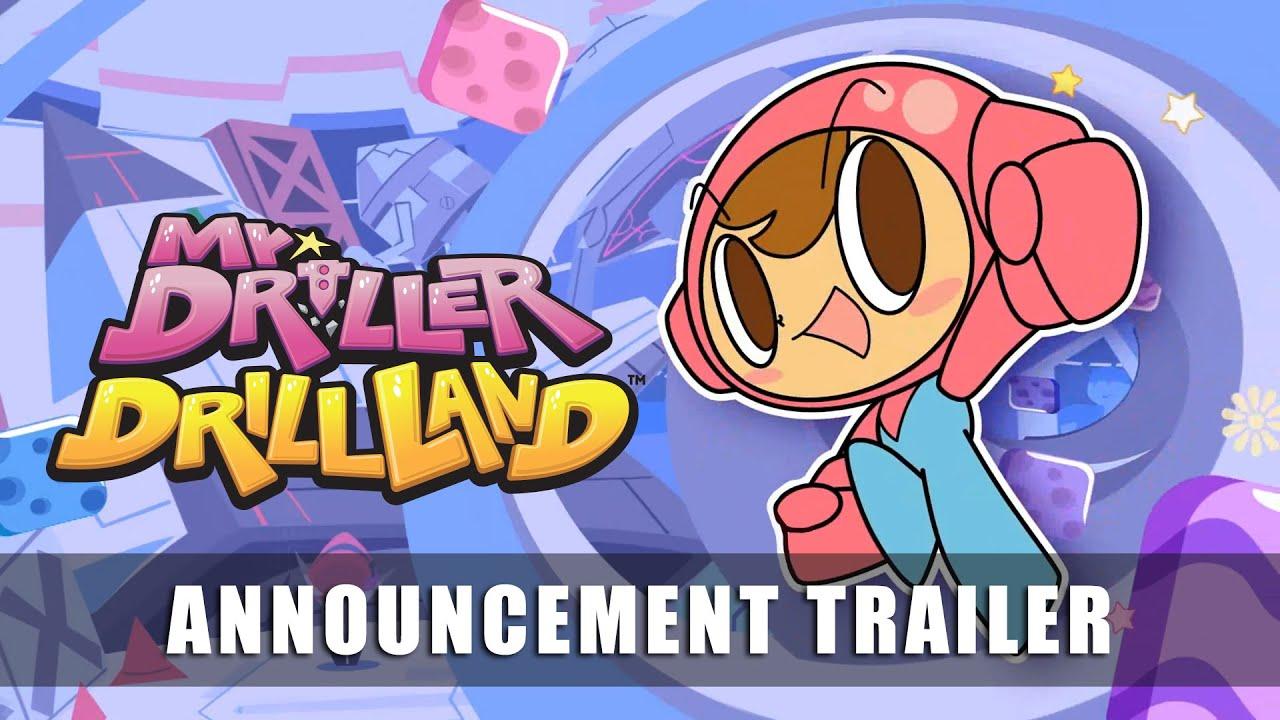Анонсирующий трейлер игры Mr. Driller: DrillLand