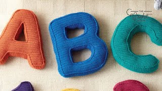 Crochet Letter Pillow: A | INTERMEDIATE | The Crochet Crowd