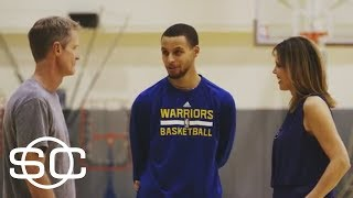 Warriors' Steph Curry And Steve Kerr Have A Free Throw Rivalry | SportsCenter | ESPN Archives - Video Youtube