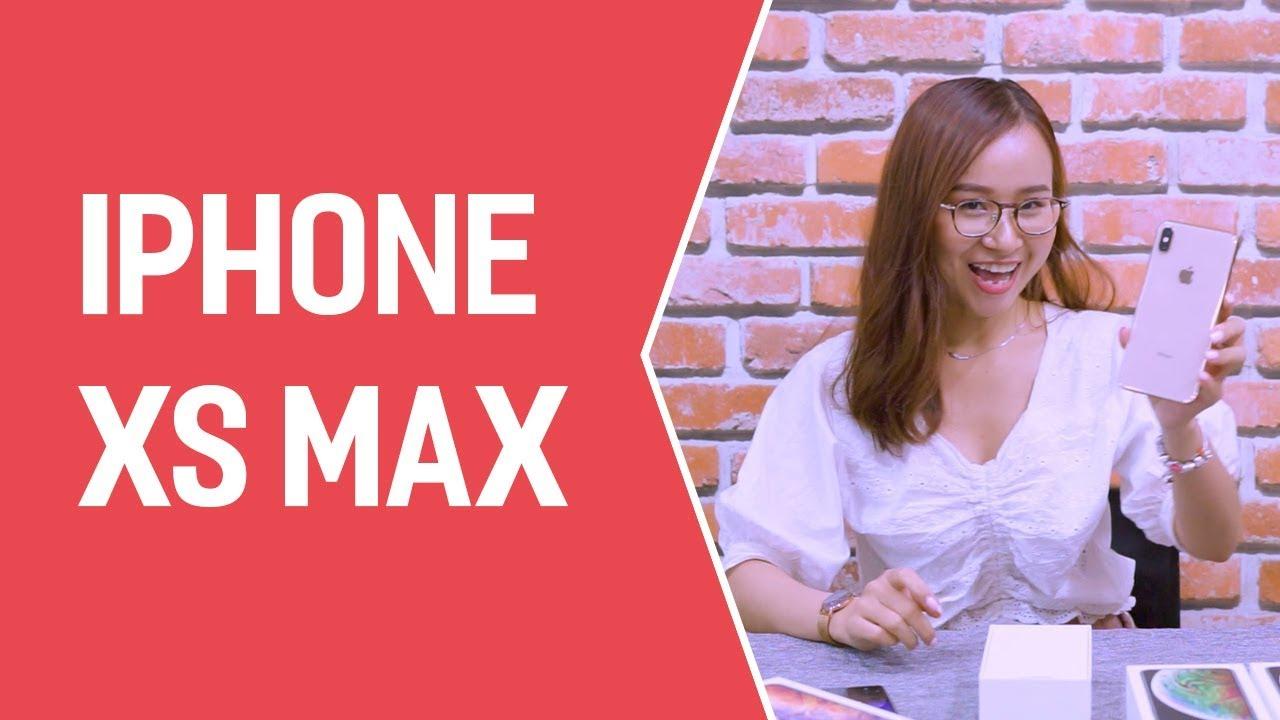 """Video mở hộp iPhone XS Max: Được đánh giá là """"SIÊU TUYỆT PHẨM"""""""