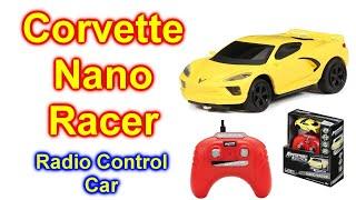 Adventure Force RC 1:64 Scale Remote Control Nano Racers 2020 Corvette Sports Car