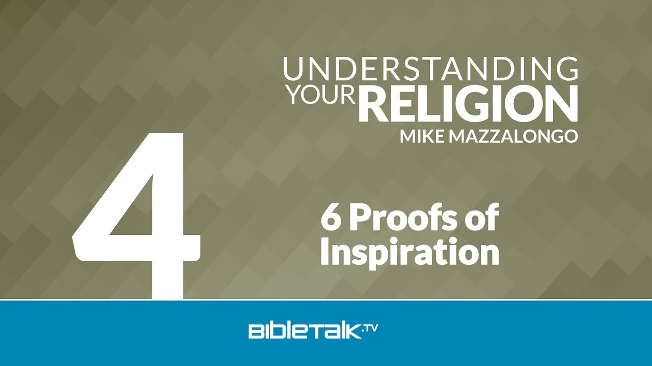 4. 6 Proofs of Inspiration