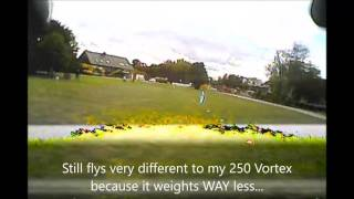 "Tarot 130 Mini FPV Quad Drone - ""The Ring"" with Betaflight 3.0"