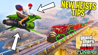 GTA Online - How To Use ANY VEHICLE in the New Tuners DLC Heist Missions (Super Easy)