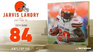#84: Jarvis Landry (WR, Browns) | Top 100 Players of 2019 | NFL