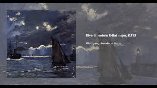 Divertimento in E-flat major, K. 113