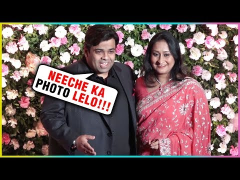 Kiku Sharda With His Wife Attends Kapil Sharma's R