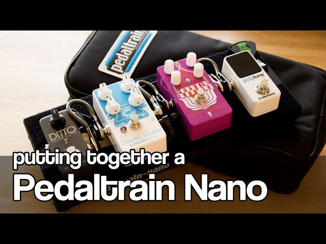 Pedaltrain-nano-putting-together