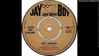 Lyons and Malone - She's Alright