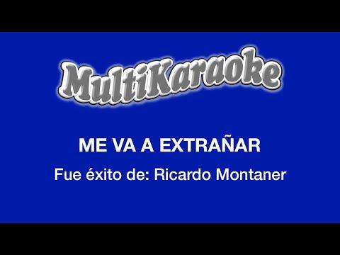 Me va a extrañar Ricardo Montaner