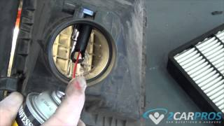Mass Air Flow Sensor Clean Toyota Tacoma