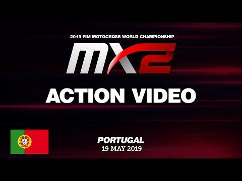 Iker Larranaga Crash - MX2 Race 1 - MXGP of Portugal 2019