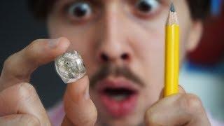 Fabriquer un diamant avec un crayon ?