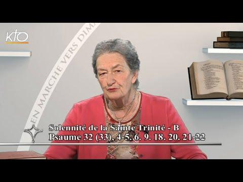 Dimanche de la Sainte Trinité B - Psaume