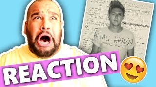 NIALL HORAN  THIS TOWN REACTION