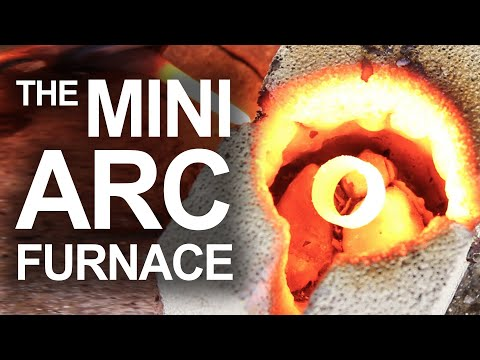 This Backyard Arc Furnace Can Liquify Copper, Steel And Rocks In Minutes