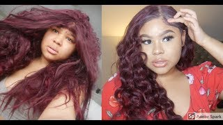 How To Refresh A Synthetic Wig/ EASY HEATLESS CURLS