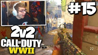 PLAYING ANGRY TRASH TALKERS! - COD WW2 2v2 GAMEBATTLES #15 (All Maps)