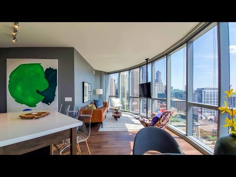 A -14 2-bedroom, 2-bath model at the West Loop's new 727 West Madison