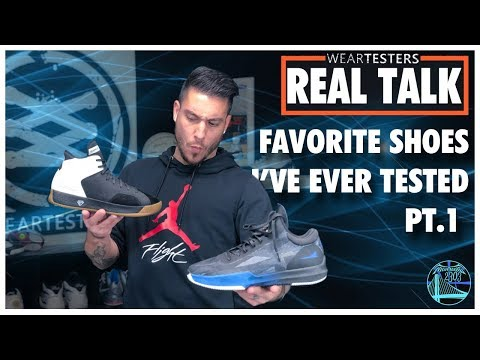The BEST Basketball Shoes I've Ever Tested Pt.1 | WearTesters Real Talk
