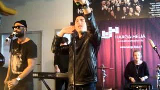 Darin at NRJ Live Finland - Breathing Your Love
